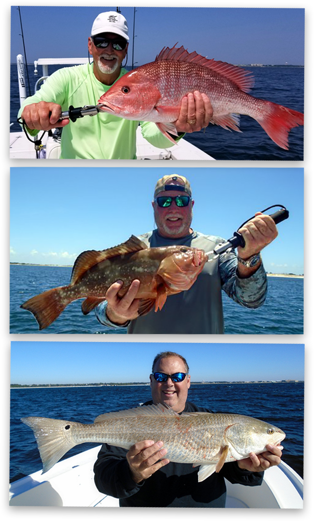 Experienced Anglers - Pensacola Fishing Charters