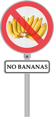 No Bananas On The Boat Please
