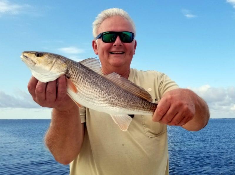 Slot-Size Redfish - Emerald Coast Fishing in October