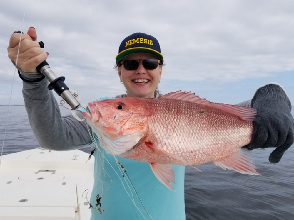 Fishing Red Snapper on Florida's Emerald Coast
